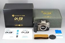 Rare  NEAR MINT Minolta α9 Alpha 9 TI 35mm SLR Camera Body Boxed From Japan