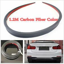 Carbon Fiber Look Universal Car Spoiler Rear Roof Trunk Molding Lip Wings 1.2m
