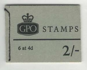 GB  May 1970  MNH Complete Stamps Booklet  2/- GPO