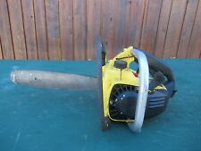 "Vintage McCULLOCH  MAC 110 Chainsaw Chain Saw with 13"" Bar"