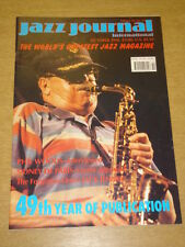 JAZZ JOURNAL INTERNATIONAL VOL 49 #10 1996 OCTOBER PHIL WOODS SIDNEY DE PARIS
