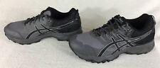 Asics Gel Sonoma 3 Trail Running Shoes T725N Carbon Black Midgrey Men's 7.5 4E