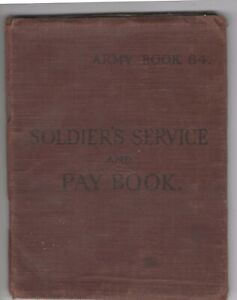 NORWAY: Soliders service book Norwegian forces in the UK 1947.
