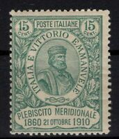 P131707/ ITALY / SASSONE # 90 MINT MH - CV 356 $