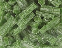 Sour Green Apple Licorice Bits by Its Delish, 5 lbs