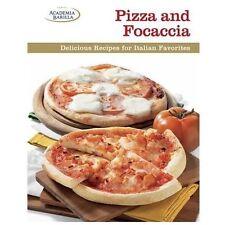 Pizza and Focaccia: Delicious Recipes for Italian Favorites-ExLibrary