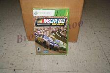 NASCAR The Game 2011 Xbox 360 Race Car NEW SEALED