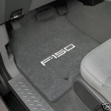 LLOYD MATS Velourtex™ FRONT FLOOR MATS with logos; fits 1999 to 2001 Ford F-150
