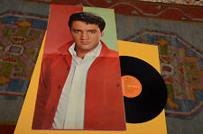 ELVIS PRESLEY LP A PORTRAIT IN MUSIC ORIG GERMANY 1973 GATEFOLD POSTER COVER !