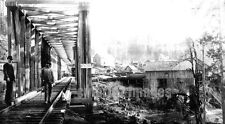 1880 MILL CITY OR Oregon Pacific Railway Bridge