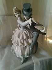Lladro 5799 Shall We Dance? Figurine, Young Couple Dancing, Very Rare!
