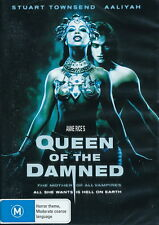 Queen Of The Damned - Horror / Vampires - Stuart Townsend, Aaliyah - NEW DVD