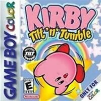 Kirby Tilt N Tumble - Authentic Nintendo Game Boy Color Game