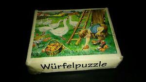Picture Cube Puzzle Farmyard scenes. Wurfelpuzzle
