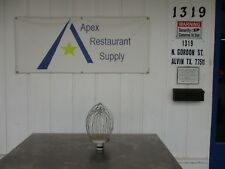 Wire Whip Whisk for 30 Qt Mixers Great Condition #3331