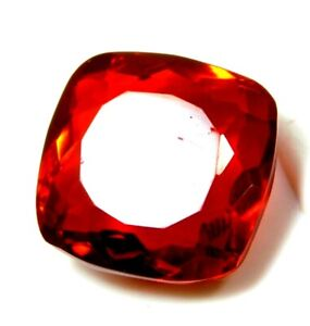 NATURAL 16.00 Cts  CUSHION CUT RED COLOR TOURMALINE  GEMSTONE R4562