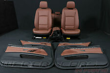 -> BMW 5er F11 Touring leather seats interior RHD cars brown Lederausstattung <-