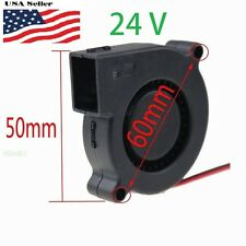 24V DC 50mm Blower Radial Cooling Fan Hotend Extruder For  3D Printer