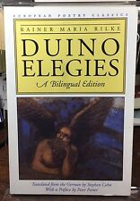 European Poetry Classics: Duino Elegies Bilingual Edition  Trans Stephen Cohn