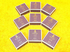 **NEW** LOT of (9) ASPREY LONDON PURPLE WATER FACE BODY SOAP SAVON 1.05 oz. BARS