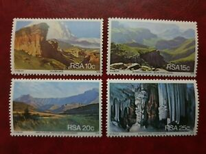 South West Africa - 1978 - tourism - 4 stamps - MNH