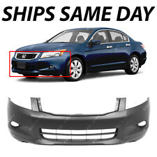 NEW Primered Front Bumper Cover Fascia for 2008 2009 2010 Honda Accord V6 08-10