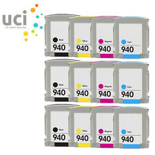 12 940XL UCI® INK Cartridge fits for HP OfficeJet Pro 8000 8500 A909n A909g