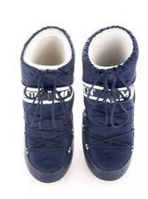 Moon Boots Size U.K. 12.5/1.5 Kids Eu 31/34 Navy Blue
