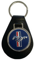 Ford Mustang Keyring Leather Fob 1969 1970 1971 1972 1973 69 70 71 72 73 302 351
