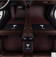 For 2012-2020 Tesla 3 S X All Model Luxury Non-slip Waterproof Car floor mats