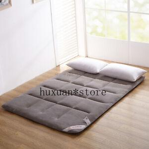 2020 Flannel Tatami Folding Kingsize Bed Cushion Pad Home Super Soft Mattress
