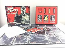SIN CITY THE GAME OF EXTORTION CORRUPTION MURDER BOARD GAME COMPLETE FREE UK P&P
