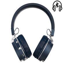 Bluetooth Kopfhörer simvalley MOBILE SPX-34 TF Card Support - Blau ZB17