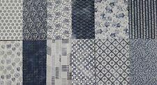 "Stampin up ✿ Designerpapier DSP Boho Indigo ✿ 6""x 6"" 15,2 cm Abendblau Vanille"