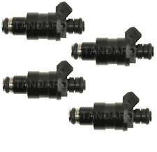 Set of 4 Standard Fuel Injectors for BMW Buick Chrysler Dodge Ford Porsche L4