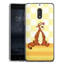 Nokia 6 2017 Silikon Hülle Case - Tigger
