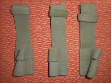 BRITISH ARMY : X 3 :303 BRITISH LEE ENFIELD  FROGS ,CANVAS MILITARIA