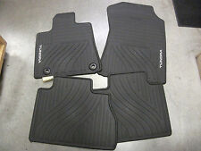 2012-2013 TUNDRA DOUBLE CAB & CREW MAX ALL WEATHER FLOOR MATS GENUINE TOYOTA