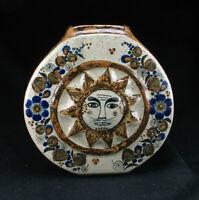 Tonala Mexiko Keramik Salvador Vasquez Vase - vintage mexican folk pottery