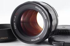 【MINT】Voigtlander NOKTON 58mm f/1.4 MF SL IIS Ai-s for Nikon From JAPAN
