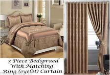 Jacquard Floral Decorative Bedspreads