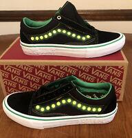 Vans x Shake Junt Old Skool Pro Black Low Top Skate Shoes Sneakers Brand SZ 8.5