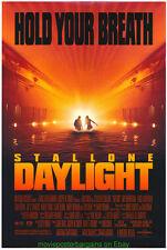 DAYLIGHT MOVIE POSTER  Original SS 27x40 SYLVESTER STALLONE 1996