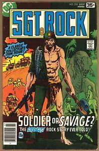 SGT ROCK (1978) #318 - DINOSAUR COVER - DC Comics