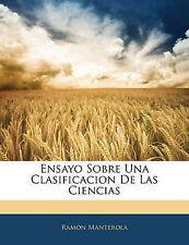 USED (LN) Ensayo Sobre Una Clasificacion De Las Ciencias (Spanish Edition)