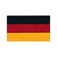 60 x 35 mm Deutschland Flagge Berlin Germany Patch Aufnäher Aufbügler 0674 B