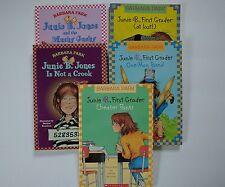 Junie B Jones Books Barbara Park School Scholastic Denise Brunkus 2.5 Level