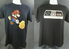 Nintendo T shirt lot: 1 super mario, 1 game controler, both L mens