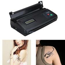 Tattoo Thermal Copier Machine Tattoo Stencil Maker Trasferimento ​​+ carta