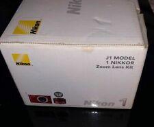 2 Nikon 1 J1 Digital Camera System with 10-30mm Lens (Red) NEW